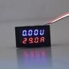 DC 0-30V 10A Вольтметр Амперметр синий + красный LED панель усилителя Цифровой вольтметр Gauge