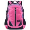 Дисней студентов начальной школы студентов средней школы рюкзак высокого класса высокой емкости досуга сумка девочек сумка DB96101B (розы красный)