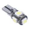 LED T10 Canbus Белый 5 SMD 5050 168 194 W5W CANbus автомобилей стороне клина Лампочки wholesale 10pcs lot canbus t10 5smd 5050 led canbus light w5w led canbus 194 t10 5led smd error free white light car styling