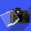 Прозрачный жесткий Pastic ЖК-экран протектор Крышка монитора BM для Nikon