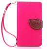 Розовый Дизайн Кожа PU откидная крышка бумажника карты держатель чехол для Samsung Galaxy G386 розовый дизайн кожа pu откидная крышка бумажника карты держатель чехол для samsung galaxy g386