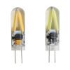 1шт G4 1.5W светодиодный мини-прожектор лампа 12V AC / DC LED COB Волокно лампа сувениры aroma garden лампа 3d волокно синий
