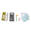 Новый TES1310 цифровой термометр метр тестер K TYPE датчик температуры тестер