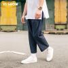 Вэй Xiu viishow случайные брюки мужские свободные мужские брюки досуг брюки мужские брюки молодежь KB11731721 темно-синий M