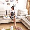 FOOJO богатые трикотажные диваны коврики четыре сезона двойной спинки 90 * 150 см полосы