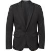 Meters Bonwe мужской мужской мужской костюм случайный 601472 черный 175 / 96A