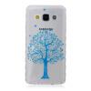 Синий дерево шаблон Мягкий чехол тонкий ТПУ резиновый силиконовый гель чехол для SAMSUNG GALAXY A3