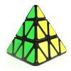 Точка Шэн ветеран куба в форме Pyraminx 3 порядка кубик Рубика игра, посвященный третий порядок в форме куба игрушки набор, содержащий обучающие DS-214 черного