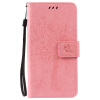 Pink Tree Design PU кожа флип крышку кошелек карты держатель чехол для HUAWEI Enjoy 5