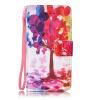 Дерево Дизайн Кожа PU откидная крышка бумажника карты держатель чехол для IPHONE 6S цветочный дизайн кожа pu откидная крышка бумажника карты держатель чехол для iphone 7g