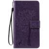 Purple Tree Design PU кожа флип крышку кошелек карты держатель чехол для HTC 825 pink tree design pu кожа флип крышку кошелек карты держатель чехол для samsung c5