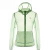 Camel (CAMEL) наружная одежда любителей одежды тонкая и легкая сухая куртка пальто женская A7S145110 ice green l