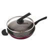 технология [супермаркет] Jingdong бурения (ZUANJ) импорт антипригарной сковородки 30CM нет испарений не допускающего пригорание вок плиты Универсального ZJ-PNW30 сковородки