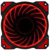 (JONSBO) FR-101P-Hyun красный 12CM вентилятор корпуса (вентилятор турбины двигателя / красный светодиод / PWM контроль температуры / вентилятор радиатора / материнская плата интерфейс 4PIN)
