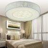 NVC (NVC) гостиная огни спальня потолочные светильники светодиодные светильники абажур современная простота оригинальной круглой железной Осветительна (18W без дистанционного управления)
