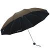 Paradise Зонт  в три сложения против солнца и дождя из  черный клей cat paradise vol 1 v 1