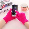 WISHCLUB сенсорный экран перчатки смартфон сенсорный экран перчатки трикотажные зимние шерстяные теплые перчатки