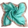 (MSEK) WSJ141710 Женские шарфы шелковые атласные квадратные щедрые шарфы шелковые шарфы платок 3 зеленый