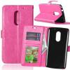 Розовая красная классическая флип-обложка с функцией подставки и слотом для кредитных карт для Lenovo VIBE X3 мобильный телефон lenovo k920 vibe z2 pro 4g