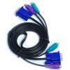 Sanbao (Sanbao) SKV-А105 KVM-три линии PS2 мышь и клавиатура + VGA кабель KVM-переключатель проволоки выделенной линии между мужчинами 1,5 м waveshare vga ps2 board accessory transform test module for vga ps2 control connector blue