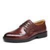 Старая голова (LAORENTOU) обувь мужская одежда деловая одежда обувь одежда Британская выгравированная мужская обувь 8623176 коричневый 41 ярдов