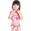 Двухсекционный купальник милые принцессы девушки купальник Yi Zi (Eži) Детский сплит белый Бугенвиль 140cm Ezi11052 детский костюм принцессы пич 28