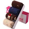 [Супермаркет] Jingdong Cat Люди (MiiOW) носки г-жа чулки женские летние мультфильм коллажа теплые носки крытый пол в трубке носки четыре пары платье