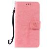 Pink Tree Design PU кожа флип крышку кошелек карты держатель чехол для LG X POWER