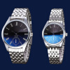 Stainless Steel Band Couple Watch New Fashion Men Women Quartz Wrist Watches Lover's Watches lovers watches fashion stainless steel band wrist quartz watch men