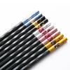 Копье (Suncha) палочками сплава нержавеющей стали палочки для еды палочками не плесневеет отель Suite Home Японские палочки для еды пять пар установлены DK4503 диффузеры с раттановыми палочками в спб