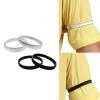 Рубашка втулки Держатели нарукавные повязки Эластичная Металл браслет для мужчин дамы