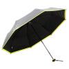 [Супермаркет] Рай Jingdong двойной солнечный зонт UPF50 + пролил воду (наружный серебряный) три складной зонтик зонтик армирующий черного золота зонтик стороне 30048ELCJ upf50 rashguard bodyboard al004