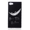 Плохой смех шаблон Мягкий чехол тонкий ТПУ резиновый силиконовый гель чехол для SONY Xperia Z5 Mini elegant protective rhinestone pu leather flip open case for iphone 5 5s black silver