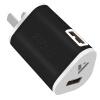 Moqi Si Dual USB мобильный телефон зарядное устройство / зарядное устройство / Универсальное зарядное устройство / питания USB адаптер / зарядное устройство Apple, Эндрюс мобильный телефон черный 1.5A сетевое зарядное устройство apple usb мощностью 5 вт md813zm a