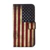 Флаг США Дизайн Кожа PU откидная крышка бумажника карты держатель чехол для Samsung J2 Prime зеленый одуванчик дизайн кожа pu откидная крышка бумажника карты держатель чехол для samsung galaxy core prime g360