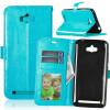 BlueStyle Classic Flip Cover с функцией подставки и слотом для кредитных карт для Asus Zenfone Max ZC550KL черная классическая флип обложка с функцией подставки и слотом для кредитных карт для asus zenfone max zc550kl