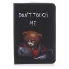Классическая откидная крышка с тиснением для медведя с функцией подставки и слотом для кредитных карт для SAMSUNG GALAXY Tab S2 8.0 T715C ouch classic collar with leash розовый ошейник воротник с поводком