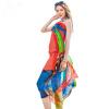 Ainingxue летом солнцезащитный крем имитация шарф леди шарф платок прямоугольный четыре сезона шарф пляж шарф WS199 зеленый