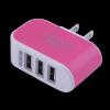 5V / 3.1A Тройной USB Универсальное зарядное устройство адаптер 3-портовый для сотового телефона