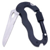 MyMei Multi-function 5 in 1 Outdoor Knife Carabiner Opener Screwdriver Tool Camping Climbing Equipment Survival Tactical Gear edc gear outdoor 6 slot design tool box with blade saw opener bar code sheet s carabiner