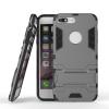 Серый Slim Robot Armor Kickstand Ударопрочный жесткий корпус из прочной резины для IPHONE 7 PLUS чехол для iphone 7 sgp slim armor 042cs20842 ультра черный