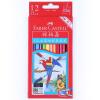 Фабер (Faber-Castell) 114462 растворим цвета свинец / цветной карандаш / цвета свинец 12 цвета костюма (дар щетка) алексей валерьевич палысаев дар