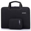 Английский (Бринч) компьютер для 15-дюймовый Apple, ультра-тонкий ноутбук Lenovo Asus Dell ноутбук сумка подарок мощность приема пакета BW-208 Black