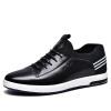 Золотая обезьяна (JINHOU) мужская обувь спортивная обувь мужская кожаная обувь удобная обувь Q29165A черный 43 ярдов