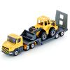 [Супермаркет] Jingdong Siku автомобиля имитационная модель сплава игрушка автомобиль модели автомобиля детские игрушки, игрушка строительный грузовик бортовой прицеп с бульдозером SKUC1616 игрушка siku трактор siku 9 3 4см 1355