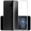 Отправить Zinuojiya 6 телефон оболочки Nokia6 силиконовый защитный рукав прозрачный все включено DROP drop 1 e72 nokia e72
