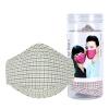 купить Bally предотвращающие запотевание маски дымка РМ2,5 формальдегида респиратора Green Grid тип уха дешево