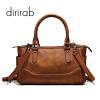 dirirab сумки сумки импортирован кожи плеча сумки диагональ пакет Boston ретро моды первый слой кожаные сумки