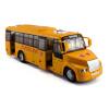Caipo модели сплава автомобиля Yutong школьный автобус автобус автобус детский игрушечный автомобиль имитационная модель автомобиля с звуковым и световым 88771NAAA билет на автобус пенза белинский