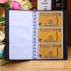 120 листов Название компании ID банка Кредитные карты держатель книги Дело Организатор